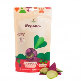 Zelenika healthy radish vegetable snack 50g
