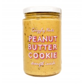 Peanut butter Cookie, 370gr - Grizzly nuts