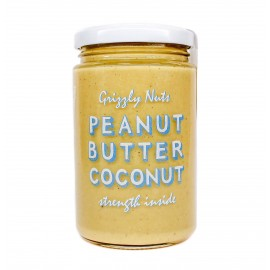 Peanut butter coconut , 370gr - Grizzly nuts